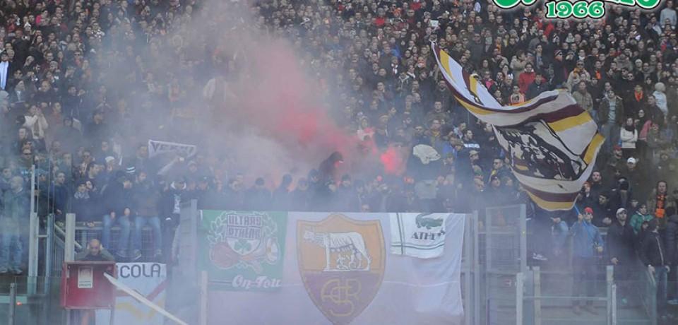 Οι Ultras Roma για τα 113 χρόνια του ΠΑΝΑΘΗΝΑΙΚΟΥ Α.Ο.